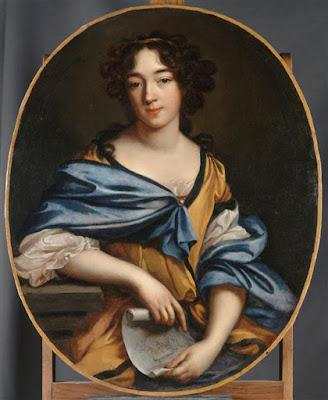 autoportrait (1672), Elisabeth Sophie Chéron