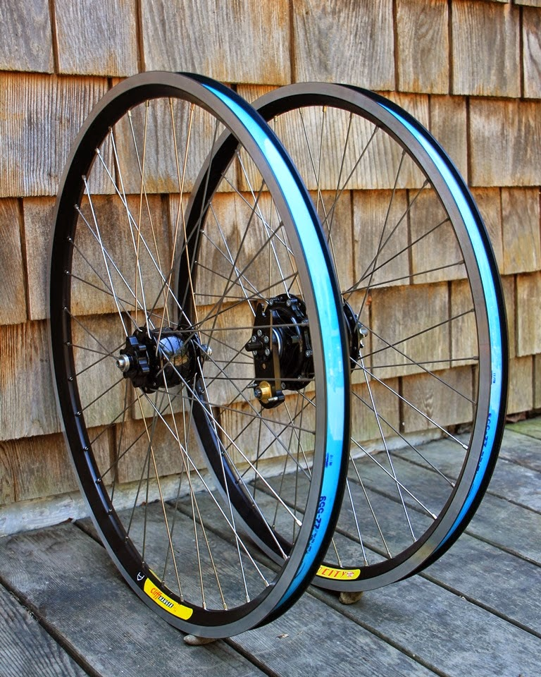 Touring Velocity Cliffhanger Rims On Rohloff And Schmidt
