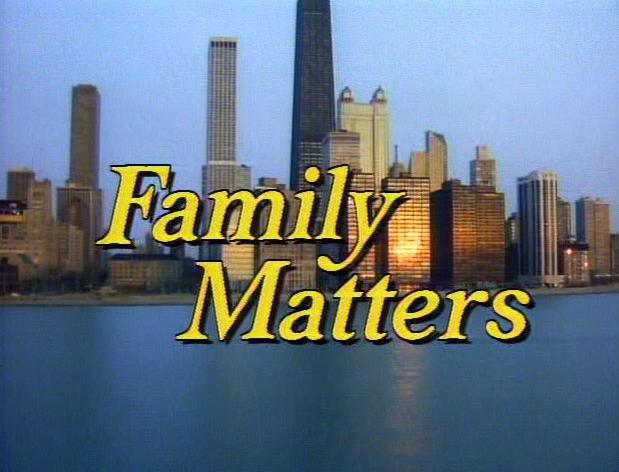 Christmas TV History: Family Matters Christmas (1990)