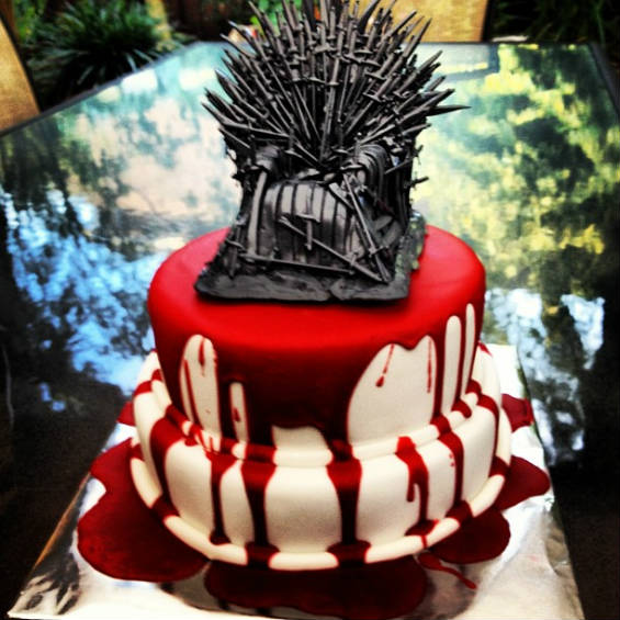 11 game of thrones cakes mental floss. Black Bedroom Furniture Sets. Home Design Ideas