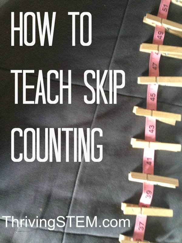 A trick for making skip counting easier for students grasp and several great math book recommendations.