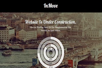 InMove Coming Soon Responsive Blogger Template