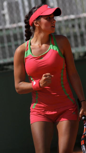 Amandine Hesse French Professional Tennis Player very hot and sexy wallpapers