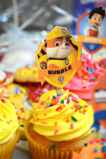 A super cute puptastic DIY Paw Patrol birthday party!