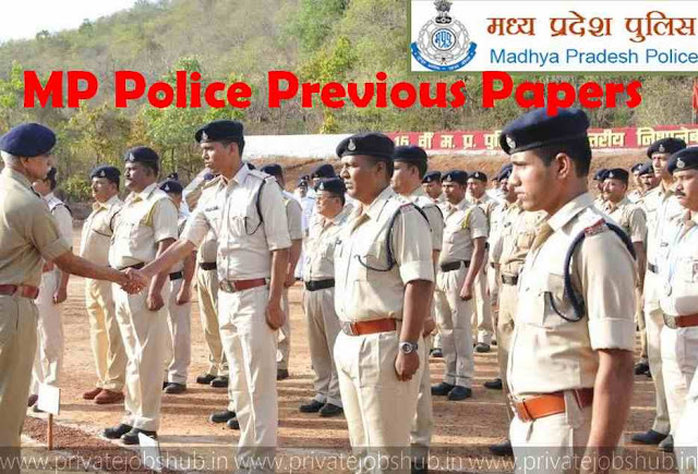 MP Police Previous Papers