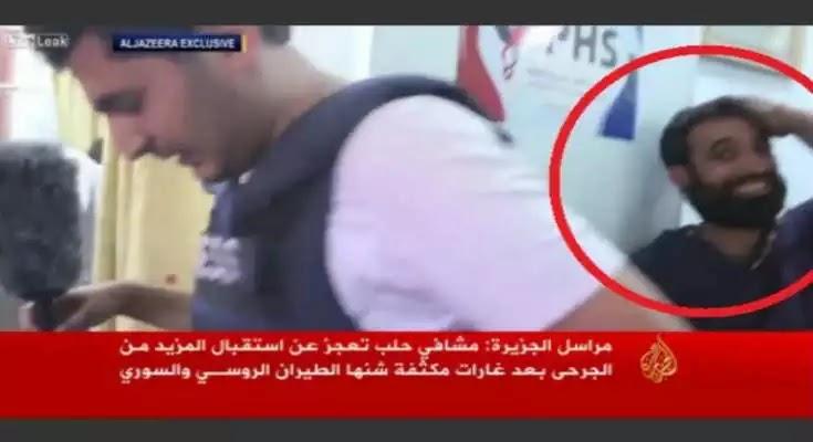 Το Al Jazeera «πιάστηκε» να βάζει «κομπάρσους» να παίζουν τους τραυματίες στο Χαλέπι [Βίντεο]