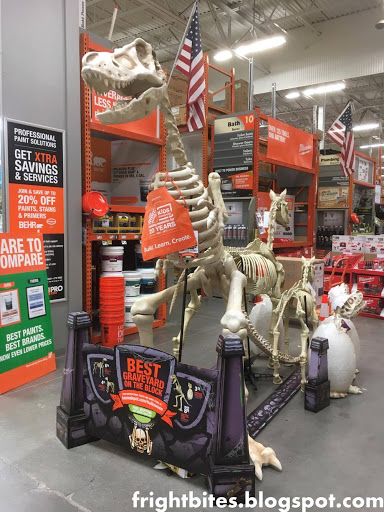 so home depot instantly became my new favorite store to shop at for halloween decorations i must admit i usually dont go to home depot for spooky decor