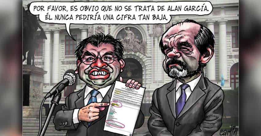 Carlincaturas Domingo 23 Abril 2017 - La República
