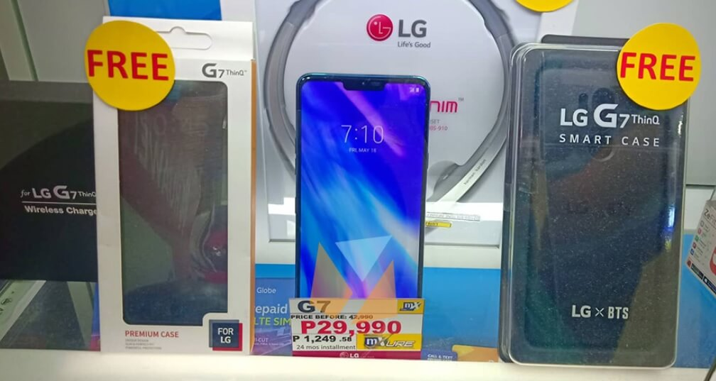 LG G7 ThinQ Now at 30% Off, Get it for Only Php29,990 with Lots of Freebies