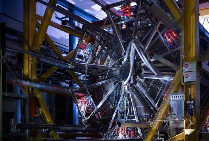 The HADES machine is creating quantum matter fireballs with temperatures up to 800 billion degrees Celsius, in an effort to study quarks.