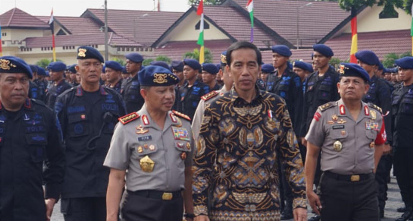 Waduh! Diam-Diam Jokowi Jenguk Ahok ke Mako Brimob Pagi-pagi Buta?