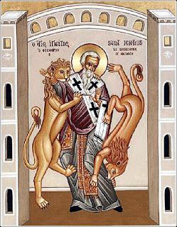 The martyrdom of St. Ignatius