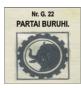 Partai Buruh / lambang banteng / catatan adi / catatanadiwriter.blogspot.com