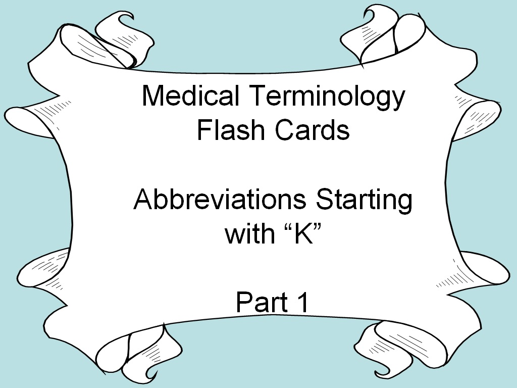 Student Survive 2 Thrive Medical Terminology Flash Cards