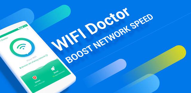 تطبيق WiFi Doctor لتسريع الأنترنت على هاتفك بطريقة ذكية جدا