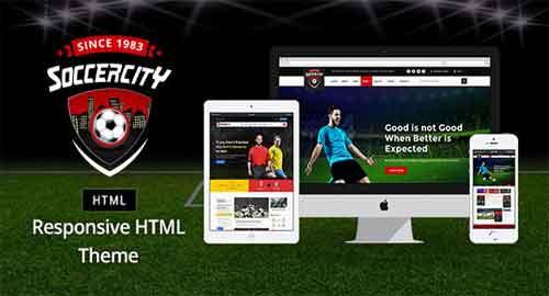 Soccer Sports v1.0 - Soccer & Sports HTML Template