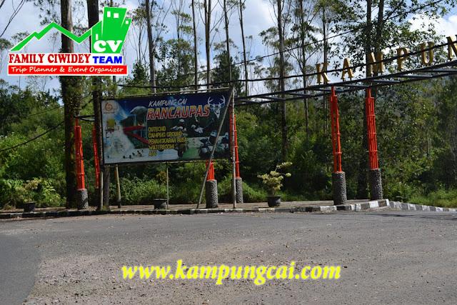 Penangkaran rusa Ranca Upas Kampung Cai Bandung