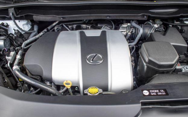 2018 Lexus GX Engine