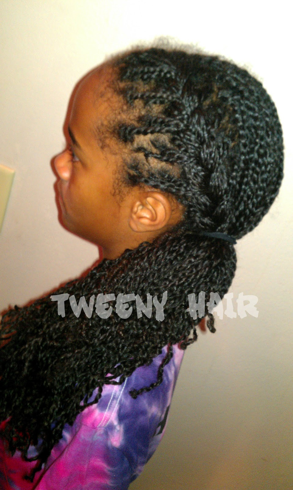 Tweeny Hair Turning Small Box Braids Into Even Smaller