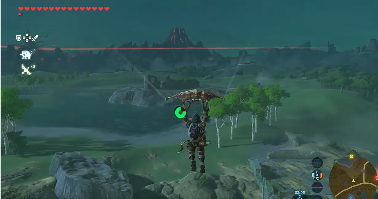 Glitch permite multiplicar los objetos en el mapa de Zelda: Breath of the Wild