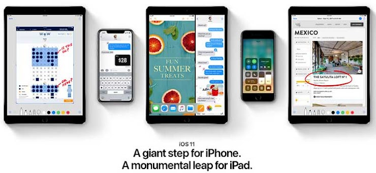 cara update ios 11 di iphone 5s