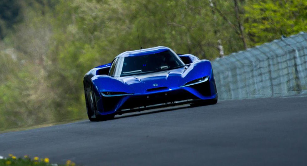 nio ep9 smashes lamborghini 39 s nurburgring lap record with. Black Bedroom Furniture Sets. Home Design Ideas