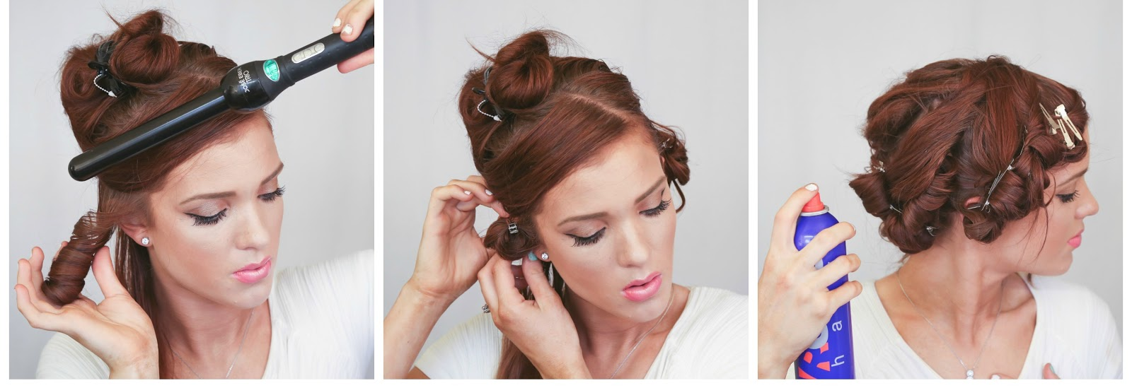the freckled fox: wedding hair week: the low curled pony | by