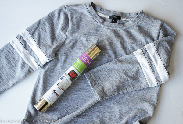 step by step tutorial for how to use heat transfer vinyl