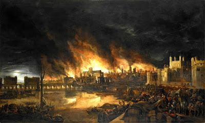 Le grand incendie de Londres fait suite à des mois de juillet et aout particulièrement chaud
