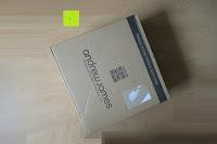 Verpackung: Andrew James großer 45cm Bodenventilator aus Metall – 100 Watt, kraftvoller Luftfluss, 3 Geschwindigkeitseinstellungen und verstellbarer Neigung – 2 Jahre Garantie