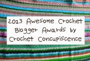 2013 Awesome Crochet Blogger Awards