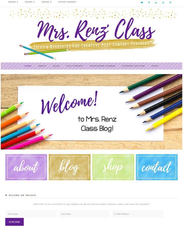 Mrs. Renz' Class