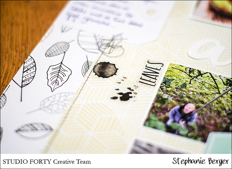 Stephanie Berger - Scrapbooking - StudioForty - An Apple