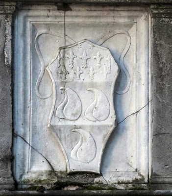 Coat of arms of Bartolomeo Colleoni, Cappella Colleoni, Basilica di Santa Maria Maggiore, Bergamo