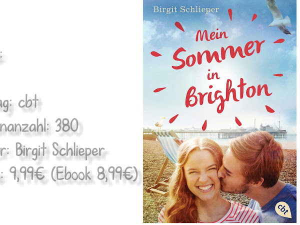REZENSION || MEIN SOMMER IN BRIGHTON ~ BIRGIT SCHLIEPER ♥