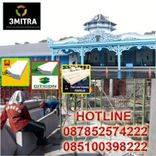informasi dan pemesanan jual panel lantai terpasang citicon dan grand elephant di kota solo dan sekitarnya