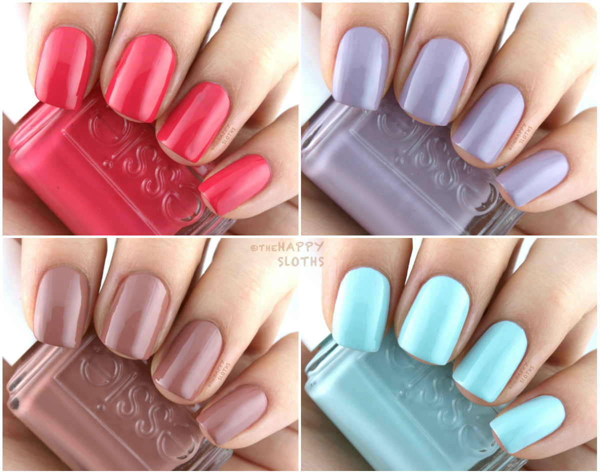 Essie Resort 2017 Collection: Swatches and Review