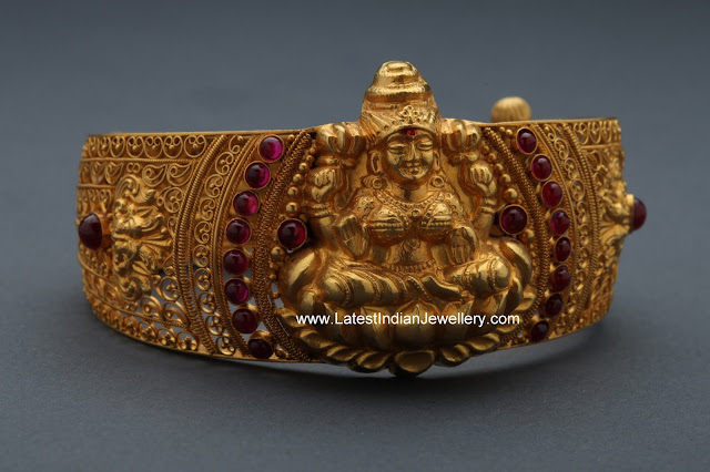 Antique Gold Laxmi Bangle