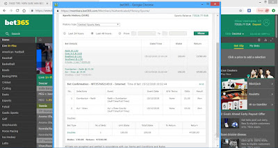 VIP Fixed Ticket fixed match correct score 1x2