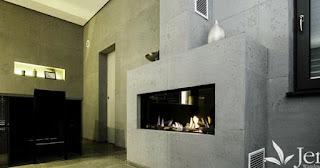 wandgestaltung wohnzimmer betonoptik