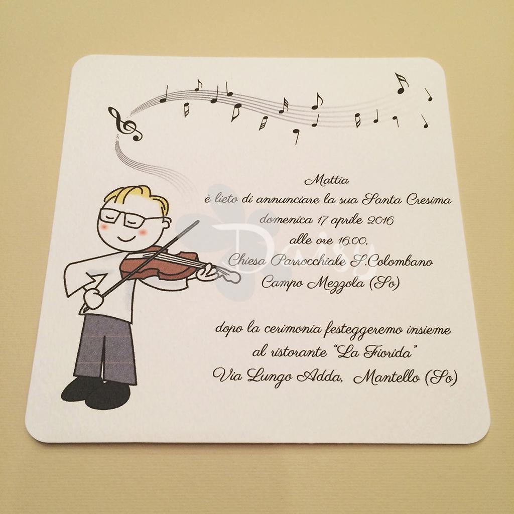 Bien-aimé Daisy Handmade: Santa Cresima di Mattia EI96