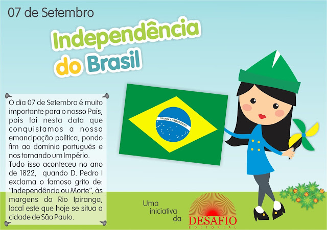 video infantil sobre a independencia do brasil