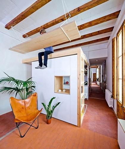 Không gian nội thất căn hộ 70m2 - Ảnh 2