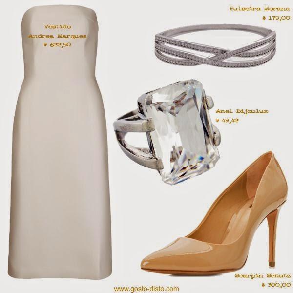 Vestido branco para o Réveillon
