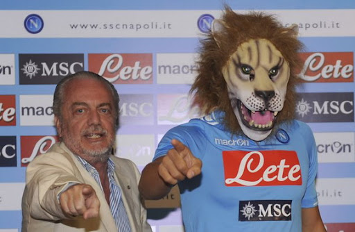 The Man in the Lion Mask: Gökhan İnler Gökhan İnler presented as new Napoli signing