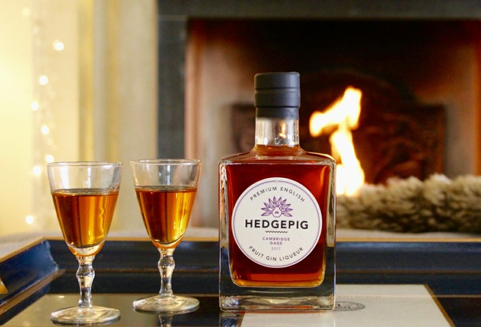 Hedgepig Gin in liqueur glasses