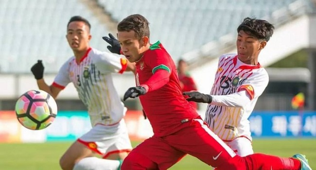 cuplikan gol indonesia vs korea selatan 0-4 u-19