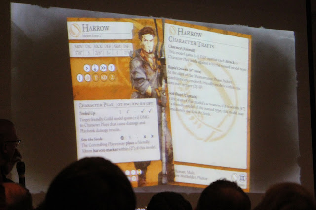 SteamCon 2016 - Keynote - Farmer's Guild - Harrow character card