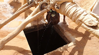 300 meter deep water hole is made to get some water