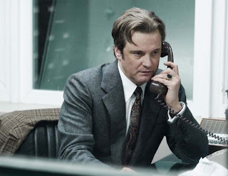 Colin Firth as Bill Haydon in Tinker Tailor Soldier Spy